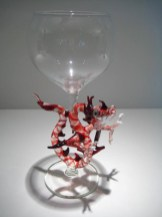 Red Dragon Goblet Artist: Milow Townsend Catalog: 801-36-5 #19602 Price: $375.00 REDUCED: $295.00