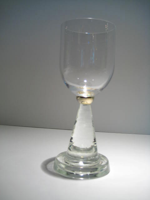 Short Wine Goblet Artist: Lane Catalog: 603-63-9