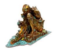 'Autumn Man' Right Side Medium: Bronze Artist: Nano Lopez