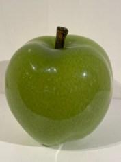 "Large Apple Artist: Cohn Stone Hand Blown Glass 10"" x 10"" x 12"" #21711 Price: $1,250.00 REDUCED: $600.00"