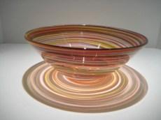 Amber Banded Bowl Artist: Calob Siemon #19458 Price: $595.00
