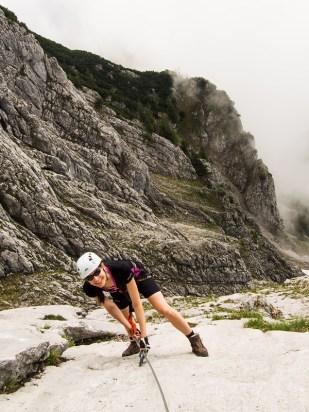 Na Teufelsteig klettersteig