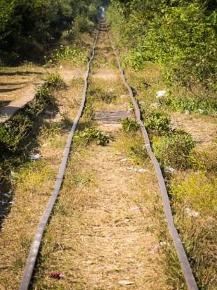 Železniční doprava skomírá. Při pohledu na trať se ani nelze moc divit.