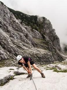 Gesäuse, Teufelsteig Klettersteig