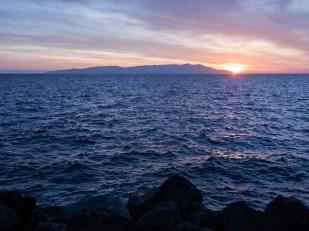 Východ slunce nad Argentariem