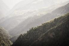 Hluboká údolí Tušetie