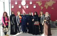 وفد سيدات أعمال الإمارات يصل كازاخستان استعدادا لعرض أزياء منى المنصورى .. صور