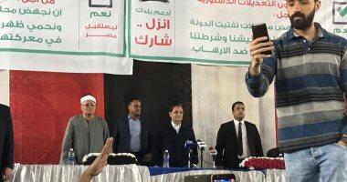 عبد الرحيم على لأهالى الدقى وبين السرايات: الست المصرية عمود الوطن