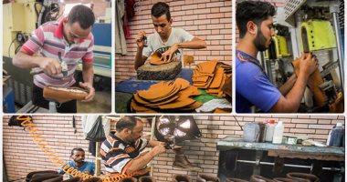 انشاء مدرسة لتعلم صناعة الجلد بمركز الجلود المتطور بالعاشر من رمضان