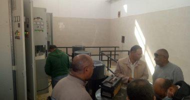 بدء التشغيل التجريبى لمحطة الصرف الصحى بمنطقة 1600 فدان بمدينة بدر
