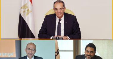 وزارة الاتصالات تعلن توقيع اتفاقيات تجارية بين المصرية للاتصالات واورنج