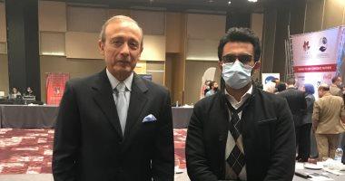 معتز رسلان: مصر عملت على تهيئة المناخ لتوسيع مشاركة القطاع الخاص فى المجالات البيئية