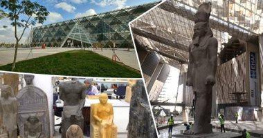 وزير الآثار يعقد اجتماعا لمتابعة مستجدات الأعمال بالمتحف المصري الكبير