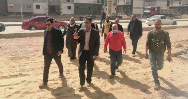 رئيس جهاز بدر  يتفقد سكن موظفى العاصمة الإدارية الجديدة بالمرحلة الأولى