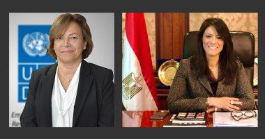 الدكتورة رانيا المشاط تشهد إطلاق مختبر تسريع الأثر الإنمائى لبرنامج الأمم المتحدة