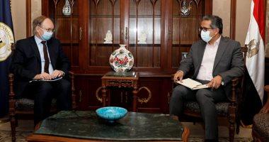 سفير الاتحاد الأوروبى يشيد بالإجراءات الاحترازية ضد فيروس كورونا فى مصر