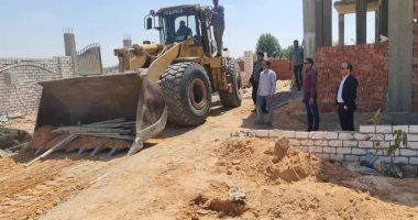 جهاز مدينة سنفكس الجديدة: مصادرة مواد البناء لأى أعمال مخالفة