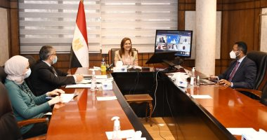 وزيرة التخطيط تجتمع بلجنة تحكيم جائزة مصر للتميز الحكومى دورة 2020-2021