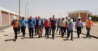 رئيس جهاز بنى سويف الجديدة يكشف نسب تنفيذ مشروعات المرافق بالمدينة