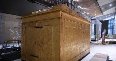 المشرف العام على المتحف الكبير: تركيب المقصورة الثالثة للملك توت عنخ آمون
