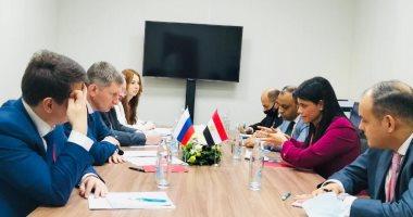 الدكتورة رانيا المشاط تبحث تعزيز التعاون الثنائى مع وزير التنمية الاقتصادية الروس