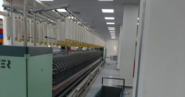 ننشر صور ماكينات مصانع الغزل والنسيج الجديدة الواردة من سويسرا