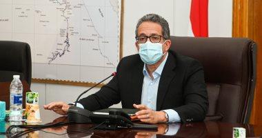 """وزير السياحة والآثار لـ""""اليوم السابع"""": 525 ألف سائح زاروا مصر خلال أبريل 2021"""
