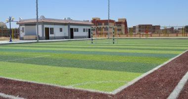 """رئيس جهاز """"أسيوط الجديدة"""": تسليم ملعبى كرة قدم خماسى لوزارة الشباب والرياضة"""