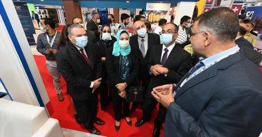 نائب وزير الإسكان لشئون البنية الأساسية يفتتح المعرض الدولي لتكنولوجيا المياه