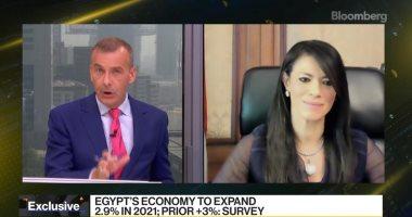 رانيا المشاط: المؤسسات الدولية تتوقع استمرار النمو في مصر ليتجاوز 5%