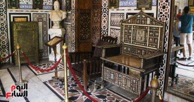 تعرف على مستجدات أعمال مشروع ترميم قصر محمد على بشبرا