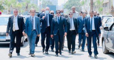 رئيس هيئة الاستثمار يتفقد أعمال تطوير ورفع كفاءة المنطقة الحرة العامة ببورسعيد