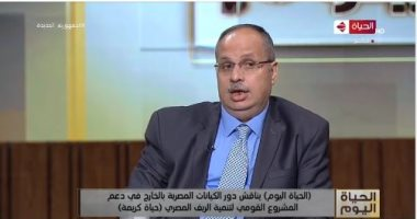 نصر السعيد: المصريون بالخارج يتسابقون للعودة والاستثمار فى وطنهم