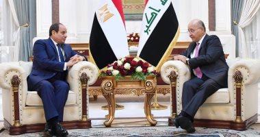 زادت فى عهد السيسى.. 1.650 مليار دولار حجم التبادل التجاري بين مصر والعراق