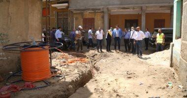 """رئيس المصرية للاتصالات: """"حياة كريمة"""" أعظم مشروع لتطوير البنية التحتية بتاريخ مصر.. صور"""