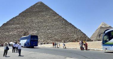 منطقة الاهرامات تستقبل 200 شاب المشاركين ببرنامج أمل مصر لابناء المحافظات الحدودية