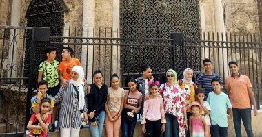 لزيادة الوعى السياحى والأثرى.. جولات إرشادية للأطفال بعدد من المواقع الأثرية