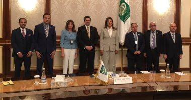 وزيرة التخطيط تبحث سبل التعاون بالصكوك الإسلامية مع رئيس المؤسسة الإسلامية