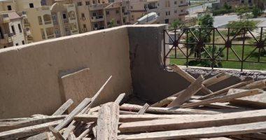 جهاز الشيخ زايد: إيقاف تنفيذ مسطحات بنائية مخالفة.. وشن حملة لرفع الإشغالات