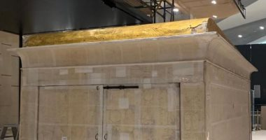 الانتهاء من نقل المقصورة الثانية للملك توت عنخ آمون وتركيبها بالمتحف المصرى الكبير