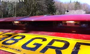 Saab 9000i number plate lights