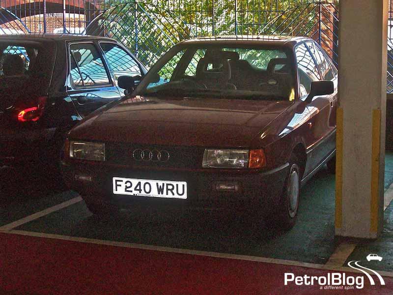 F240 WRU Audi 80