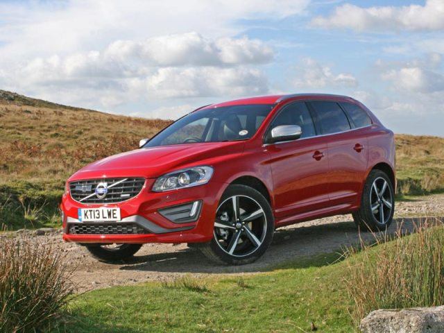 The new Volvo XC60 in Passion Red