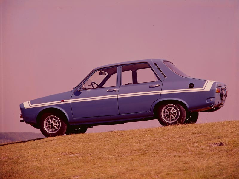 Renault 12 Gordini side profile