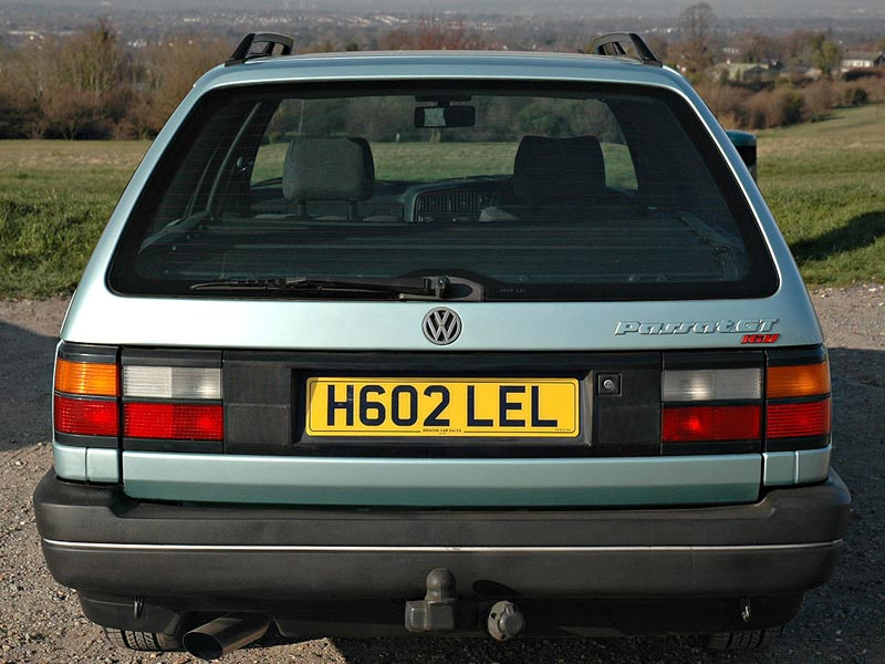 Rear of VW Passat GT 16v