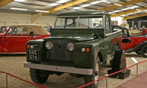 Land Rover Series 2 at Haynes International Motor Museum