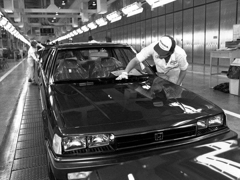 First Japanese car built in US - Honda Accord