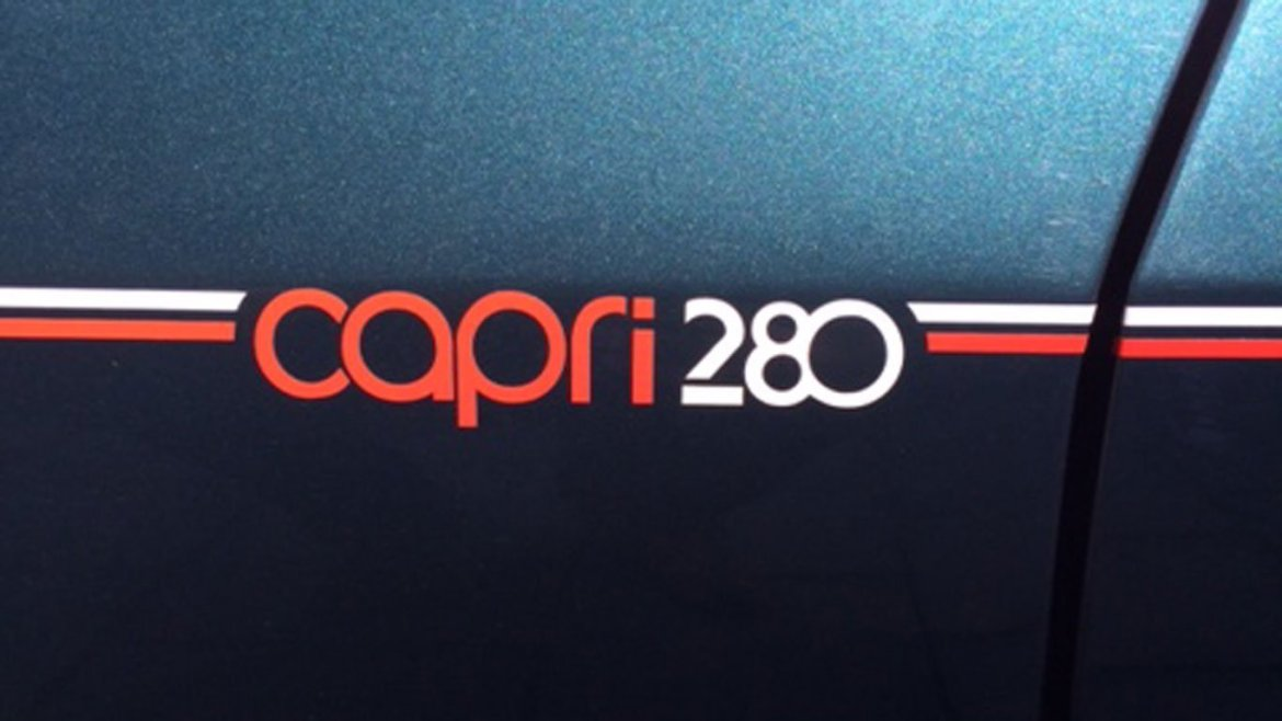 Ford Capri 280 front wing decal