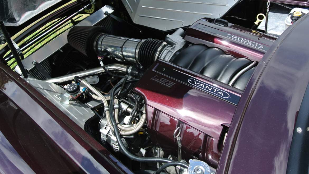 Evanta Barchetta engine