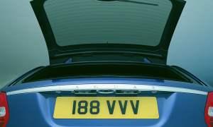 Jaguar X-Type Estate split tailgate
